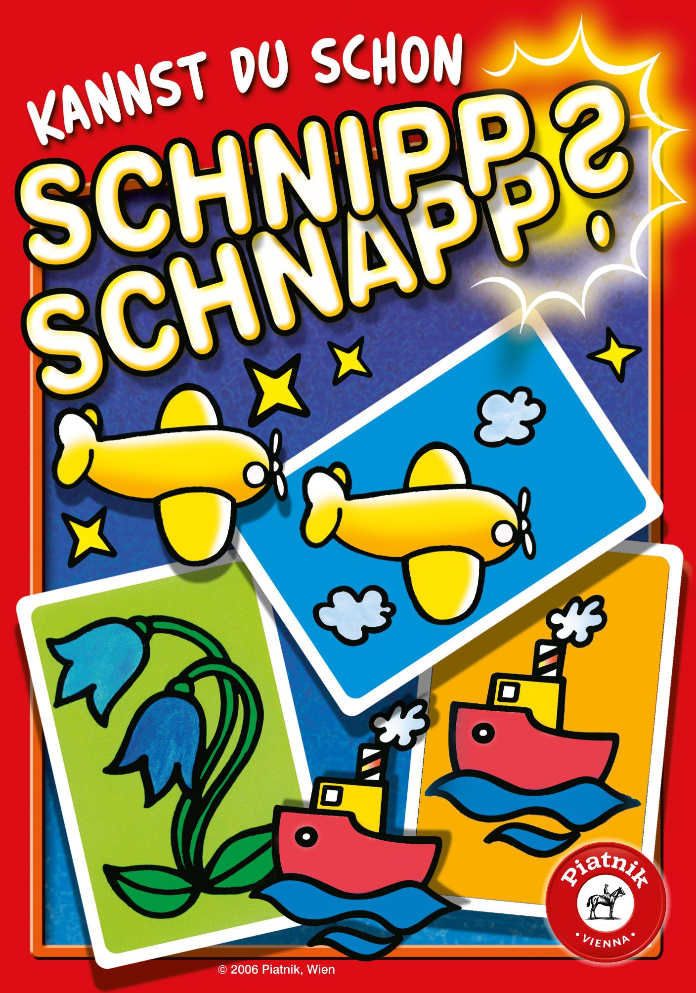 Spielanleitung Schnipp Schnapp